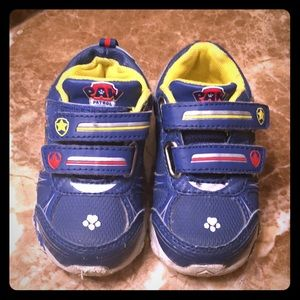 Other - Paw patrol kids light up tennis shoes
